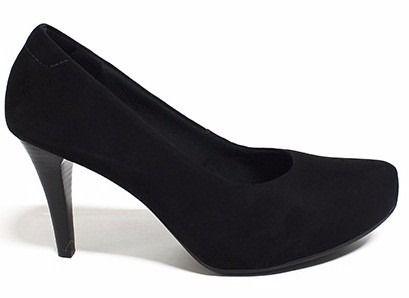 2971a1cdeb Scarpin Usaflex Salto 8 Cm Conforto - J5013 - Celeste Calçados