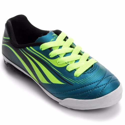 121c8d599a Tenis Penalty Futsal Atf K Rocket Infantil - 1160647026 - Celeste Calçados