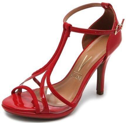 695d33050 Sandalia Vizzano Salto 10 Cm Fino Transparencia - 6210468 - Celeste Calçados
