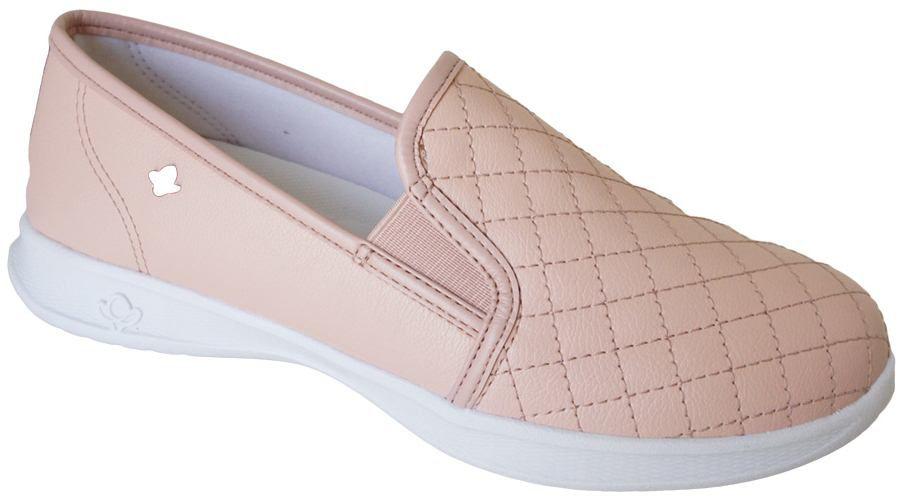 d87c58a60f4 Tenis Cravo E Canela Slip Costuras - 158704 - Celeste Calçados