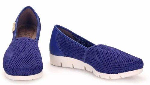 5cb642184 Tenis Feminino Azaleia Conforto Furos - 622228 - Celeste Calçados