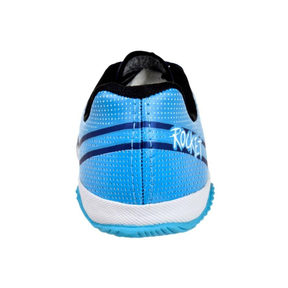 093d4d180c Tenis Futsal Penalty Infantil Rocket - 116083 - Celeste Calçados