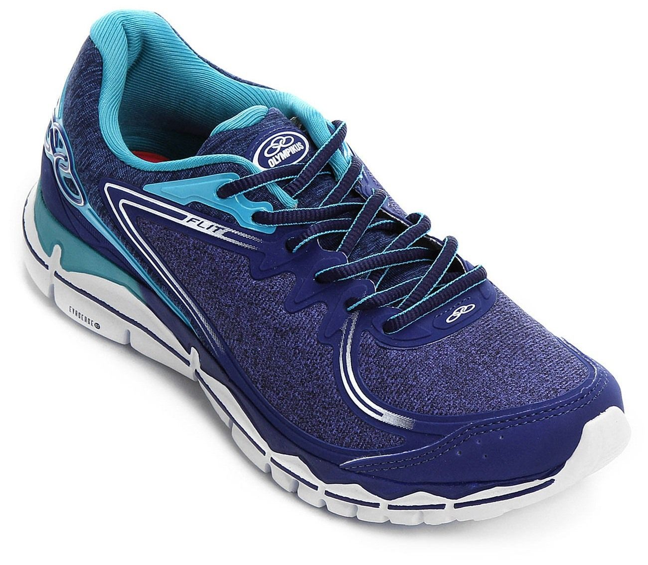 25908d9fdf2 Tenis Olympikus Flit 259 Feminino Caminhada - 43087259 - Celeste Calçados