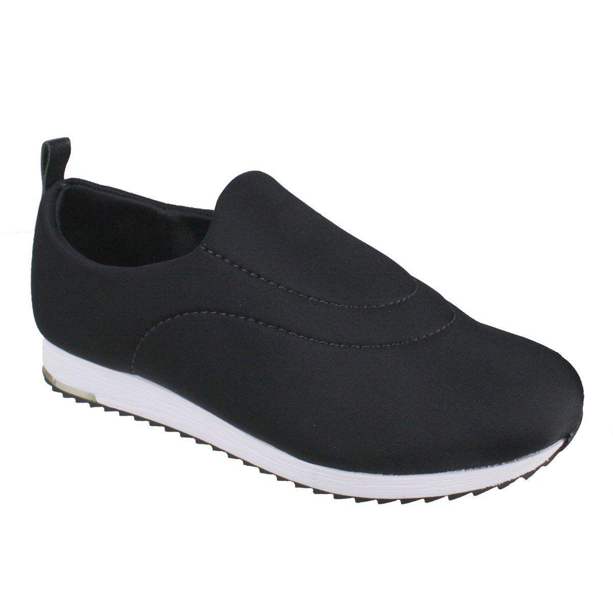 2a6856b51 Tenis Usaflex Tecido Lycra Ortopedico - V9103 - Celeste Calçados