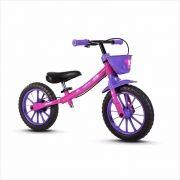 Bicicleta Balance Bike Aro 12