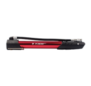Bomba Mini Pump TSW Alumínio Anodizada Manual - Vermelha