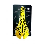 Selim Argon Spyder Twin Tail Mtb Speed Flexível Amarelo
