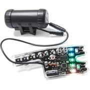 Sinalizador Luminoso De Led P/ Roda De Bike Monkey Light M210