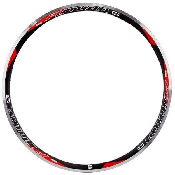 Aro Vzan Futura Speed 700c 24F Preto Para Bicicleta