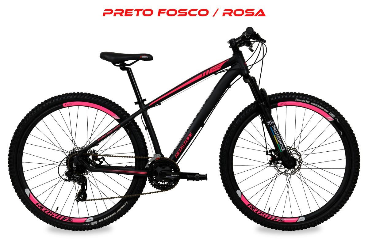 Bicicleta 29 Redstone MTB Nitro Shimano 24 velocidades