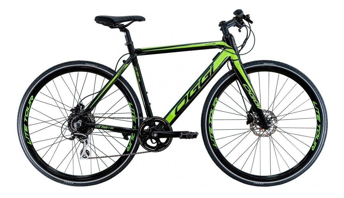 Bicicleta 700 Elétrica Oggi E-lite Tour 500 Urbana