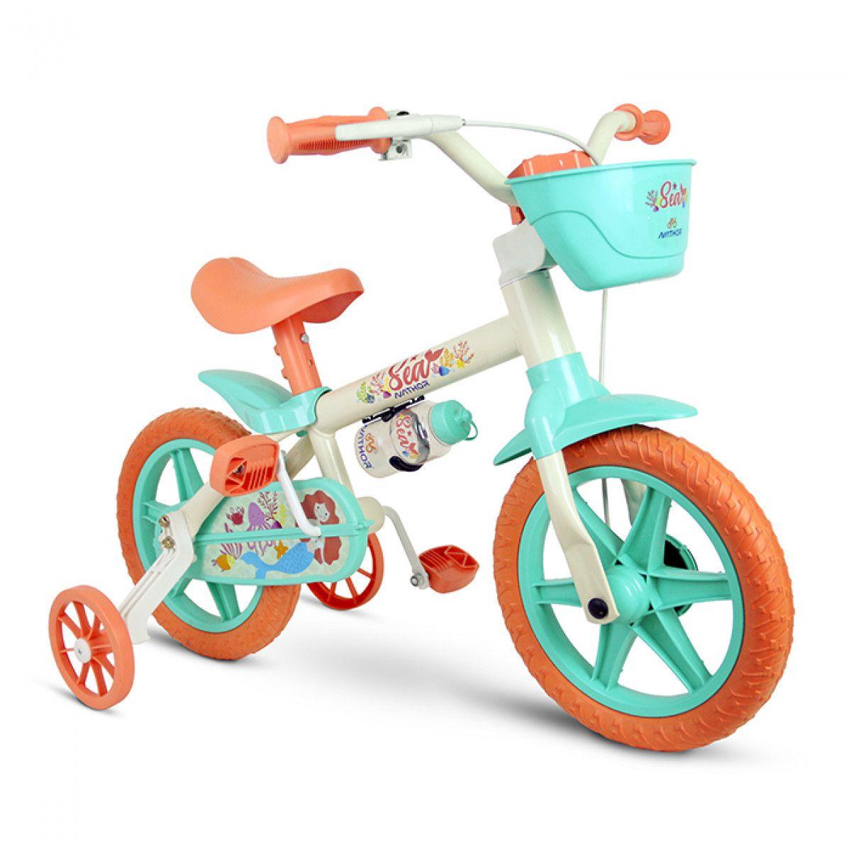 Bicicleta Aro 12 Feminina Nathor Sea