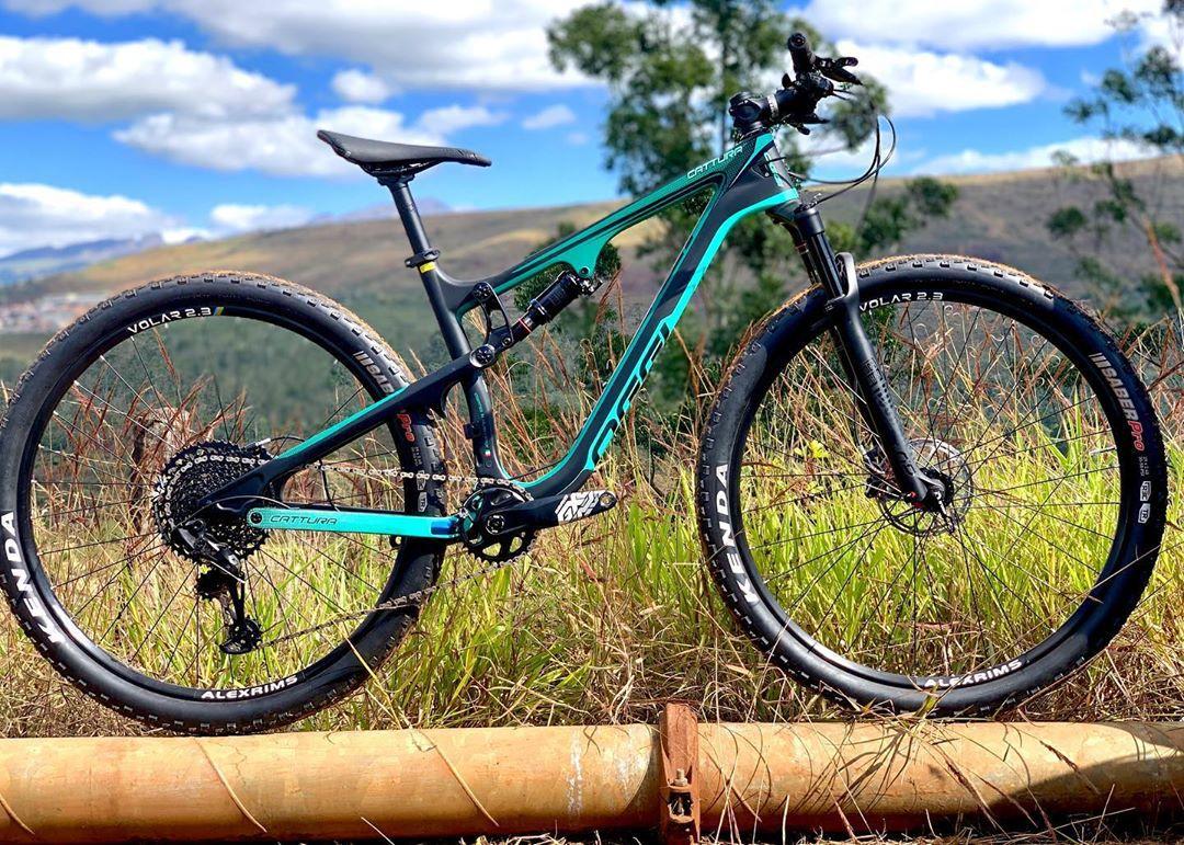 Bicicleta Aro 29 Oggi Cattura Full Suspension Pro 12 Velocidades Sram