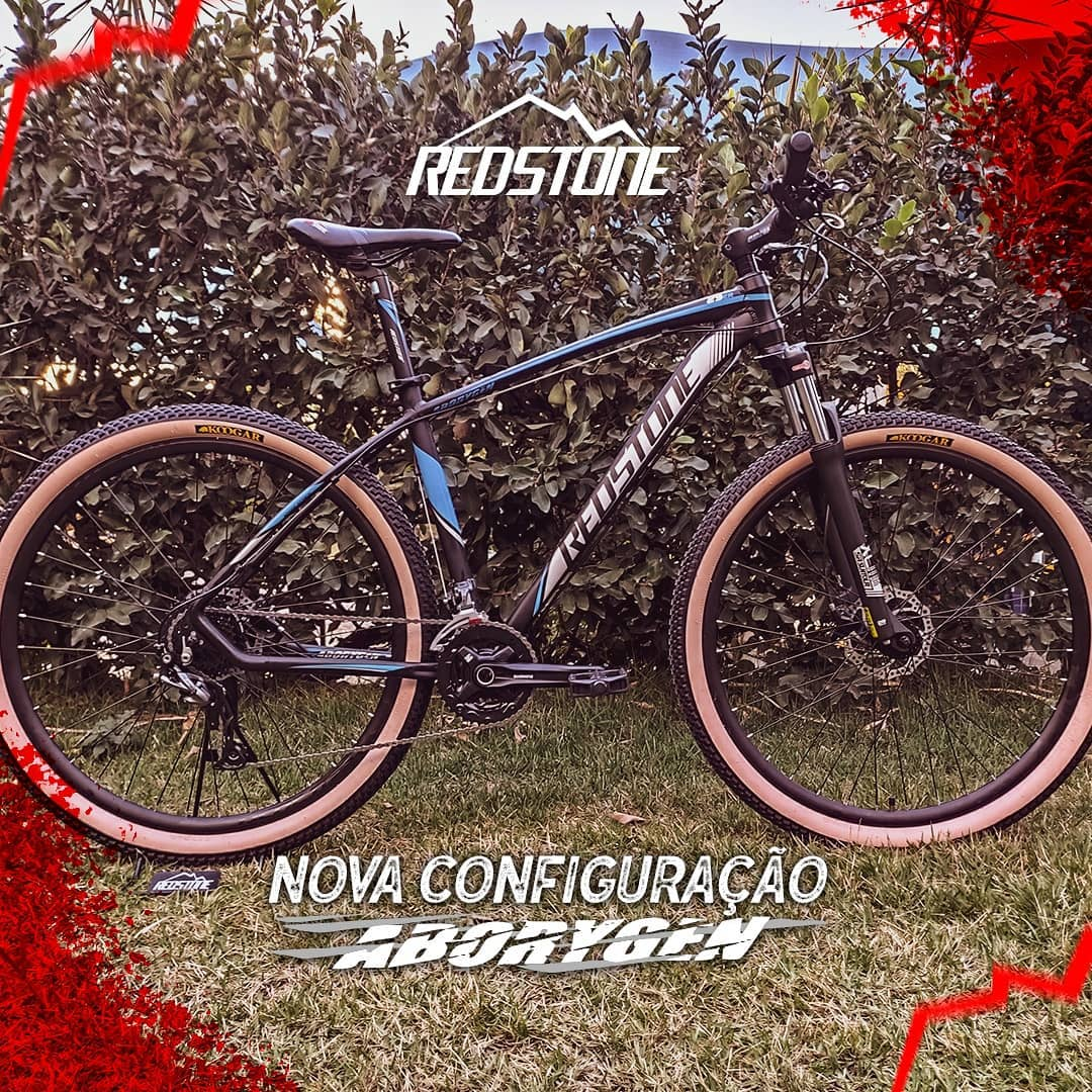 Bicicleta Aro 29 Redstone Aborygen Versão Limitada