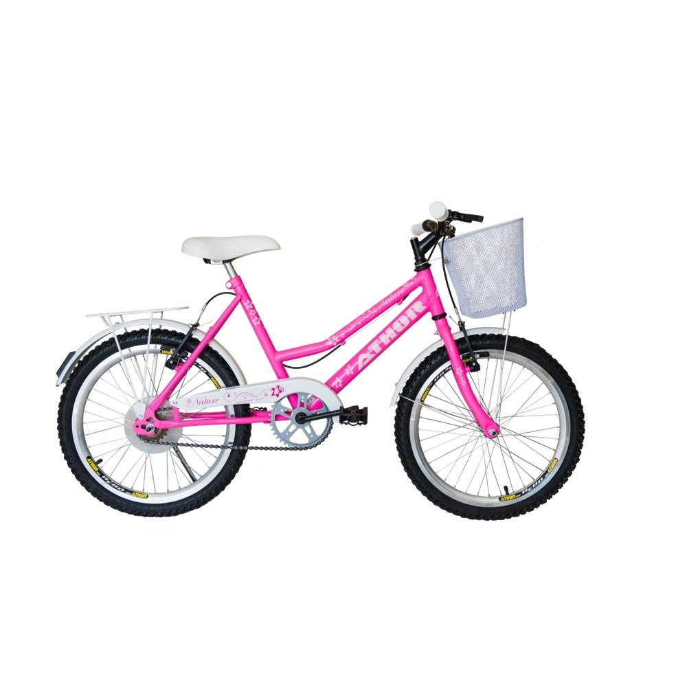 Bicicleta Athor Aro 20 Nature Feminino - Rosa
