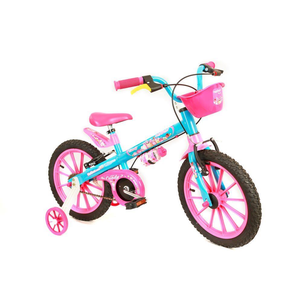 Bicicleta Infantil Aro 16 Candy Nathor