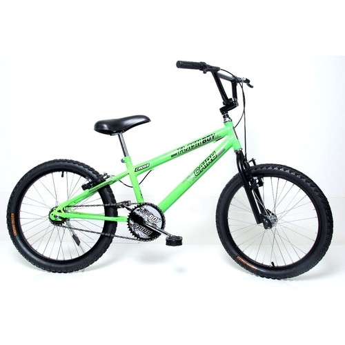 Bicicleta infantil aro 20 cross Verde Neon Cairu