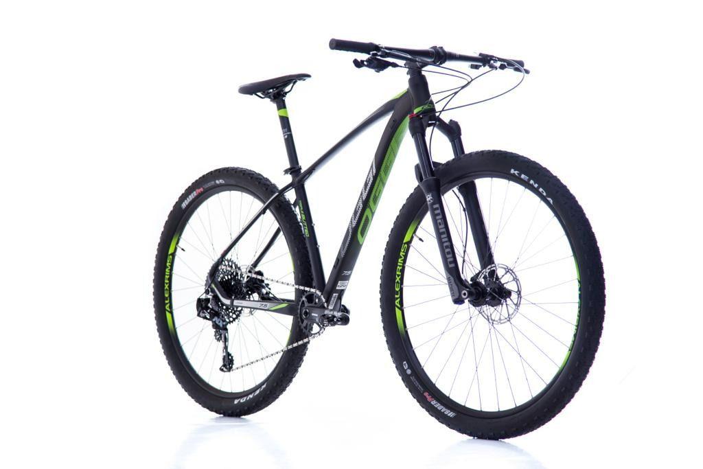 Bicicleta Mountain Bike Aro 29 Oggi Big Wheel 7.5 Sl Eagle 12 Vel 2019 Verde