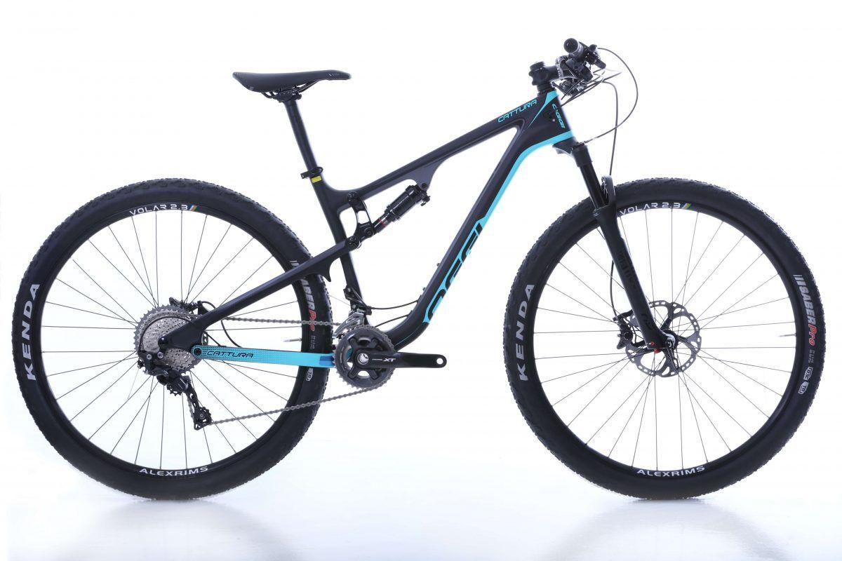 Bicicleta Mtb Full Oggi Cattura Carbon Xt Aro 29