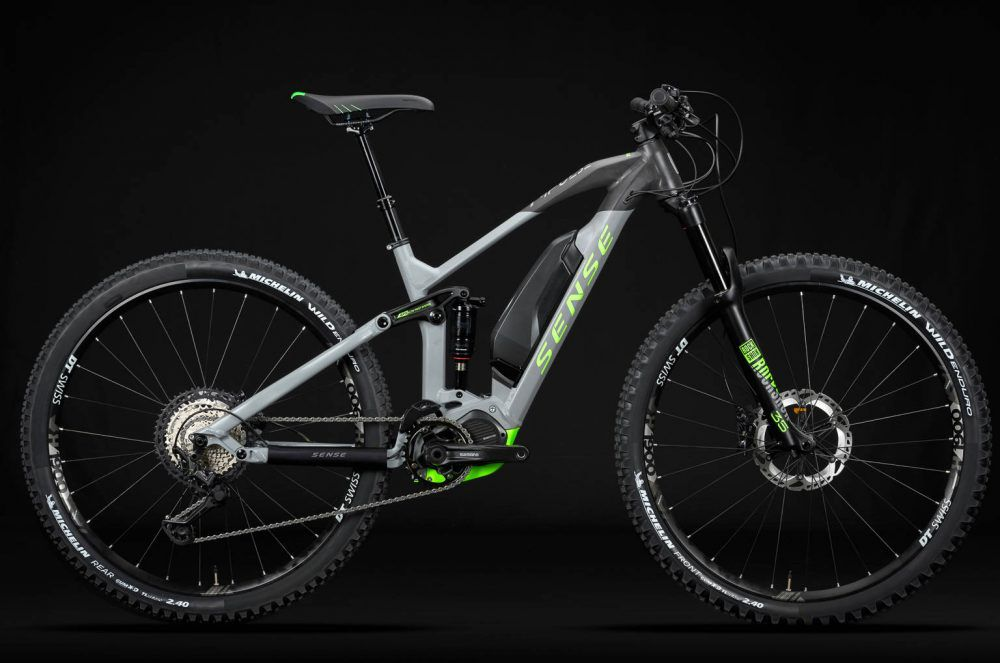 Bicicleta Sense Impulse E-trail 2020