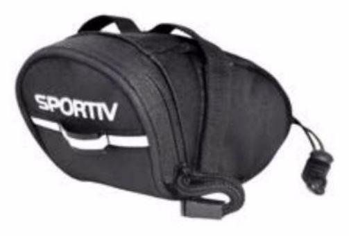 Bolsa De Selim Com Velcro Sportiv