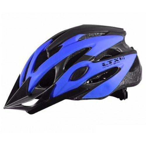 Capacete Ciclismo Emold Ltx Mv29 Azul Fosco Tm M