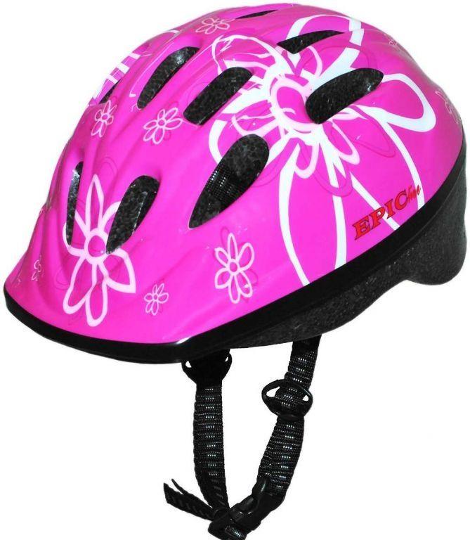 Capacete Ciclista Infatil Epic Line Flor