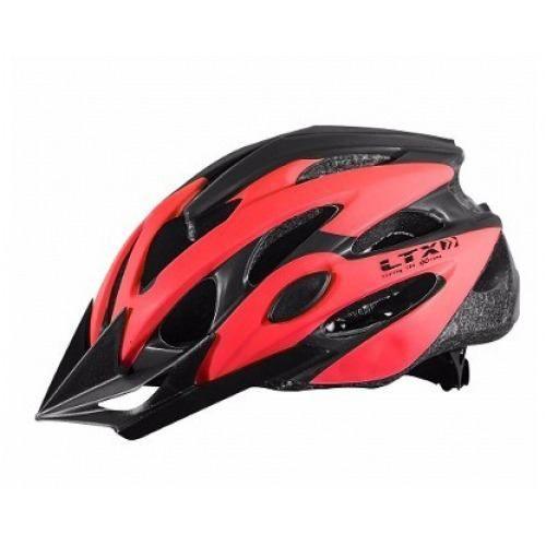 Capacete Ciclista Ltx Mv29 Vermelho
