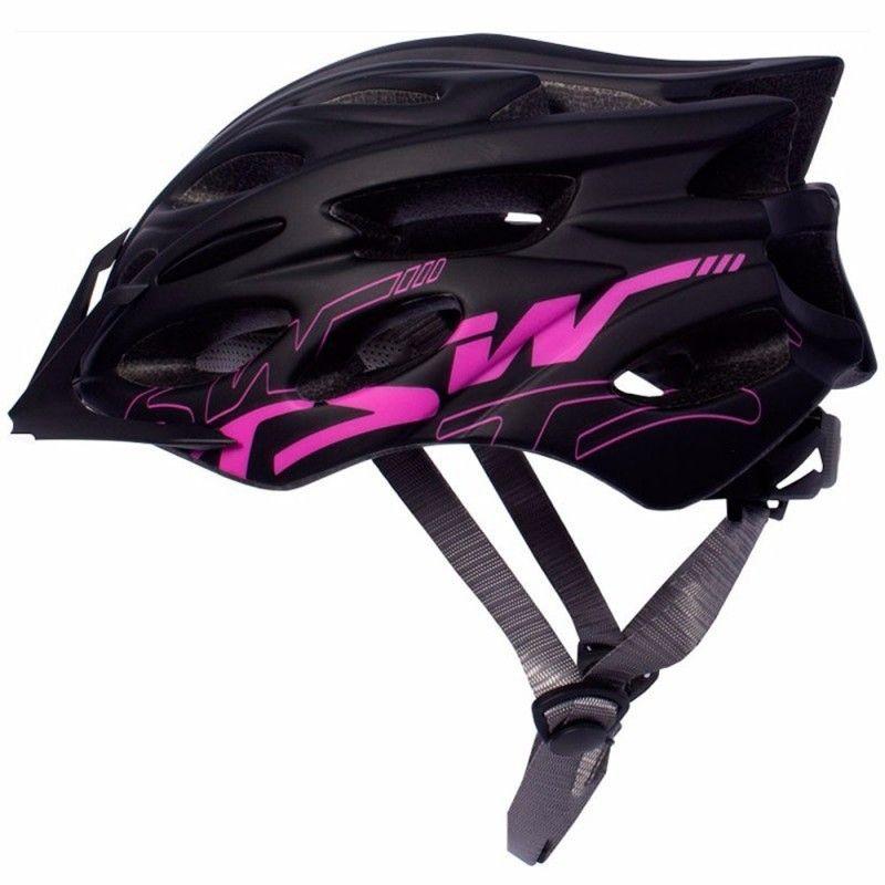 Capacete Ciclista Tsw Mtb Elite Preto Rosa Para Bike