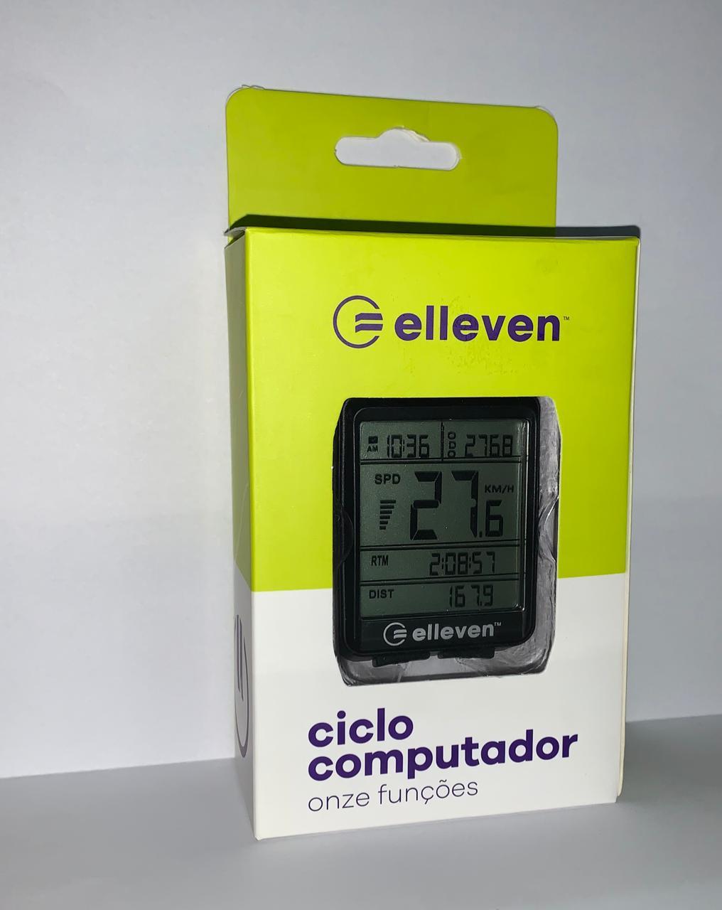 Ciclo computador Elleven F11 com 11 Funções