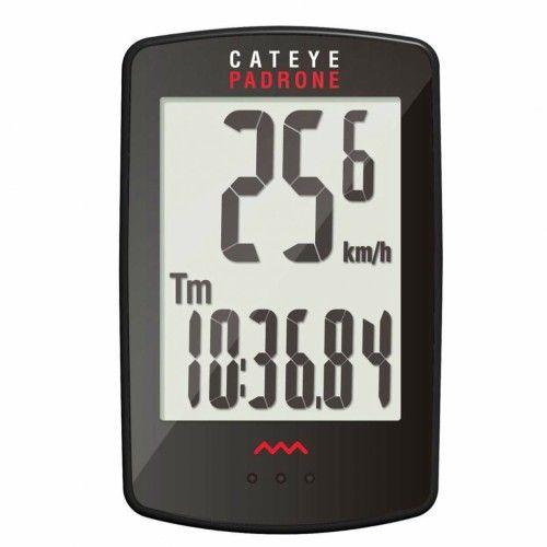 Ciclocomputador Cateye Padrone Sem Fio (Wireless) para Ciclismo - 7 Funções