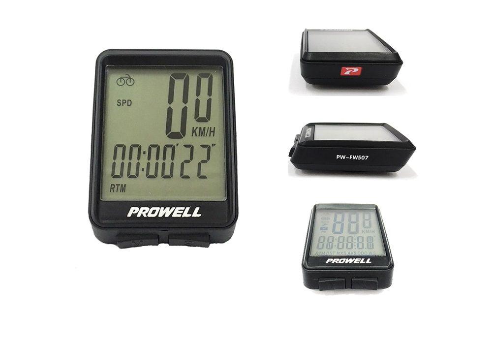 Ciclo computador Prowell Wireless modelo PW-FW507