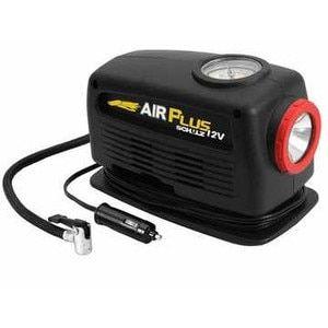 Compressor De Ar Air Plus Schulz 12V Com Lanterna Para Bicicleta