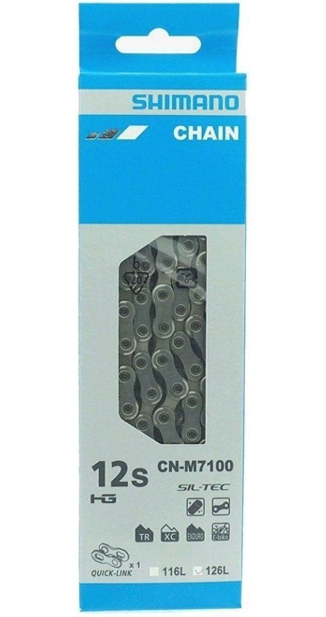 Corrente Shimano Cn-m7100 126l 12v