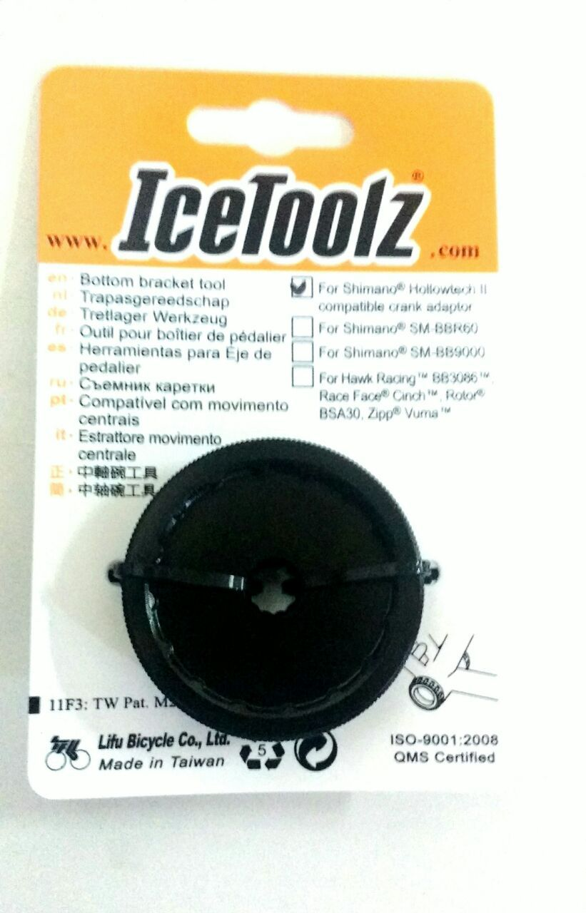 Extrator Movimento Central IceToolz Para Bicicleta Para Braco Hollowt