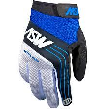Luva ASW Racing Active - Azul com Branco Tm M