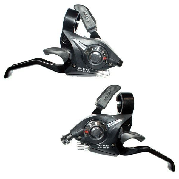 Passador Alavanca Rapid Fire Gts  Gef-51 7v Para Bike