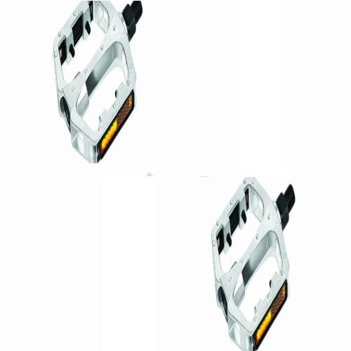 Pedal Mtb Aluminio Polido Gta 9/16 Rosca Grossa