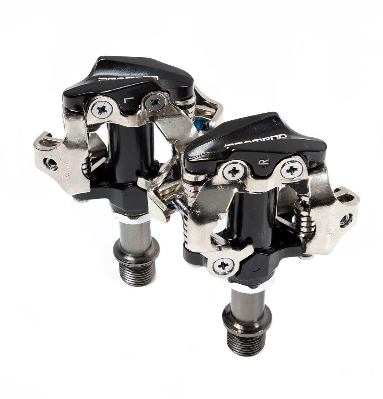 Pedal MTB Alumínio Preto Clip