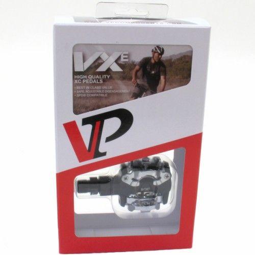 Pedal MTB SPD VP-VX1000 Preto + Taco VP-C01