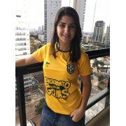 Camiseta Brasil copa 2018