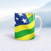 Caneca Bandeira do Estado de Goiás