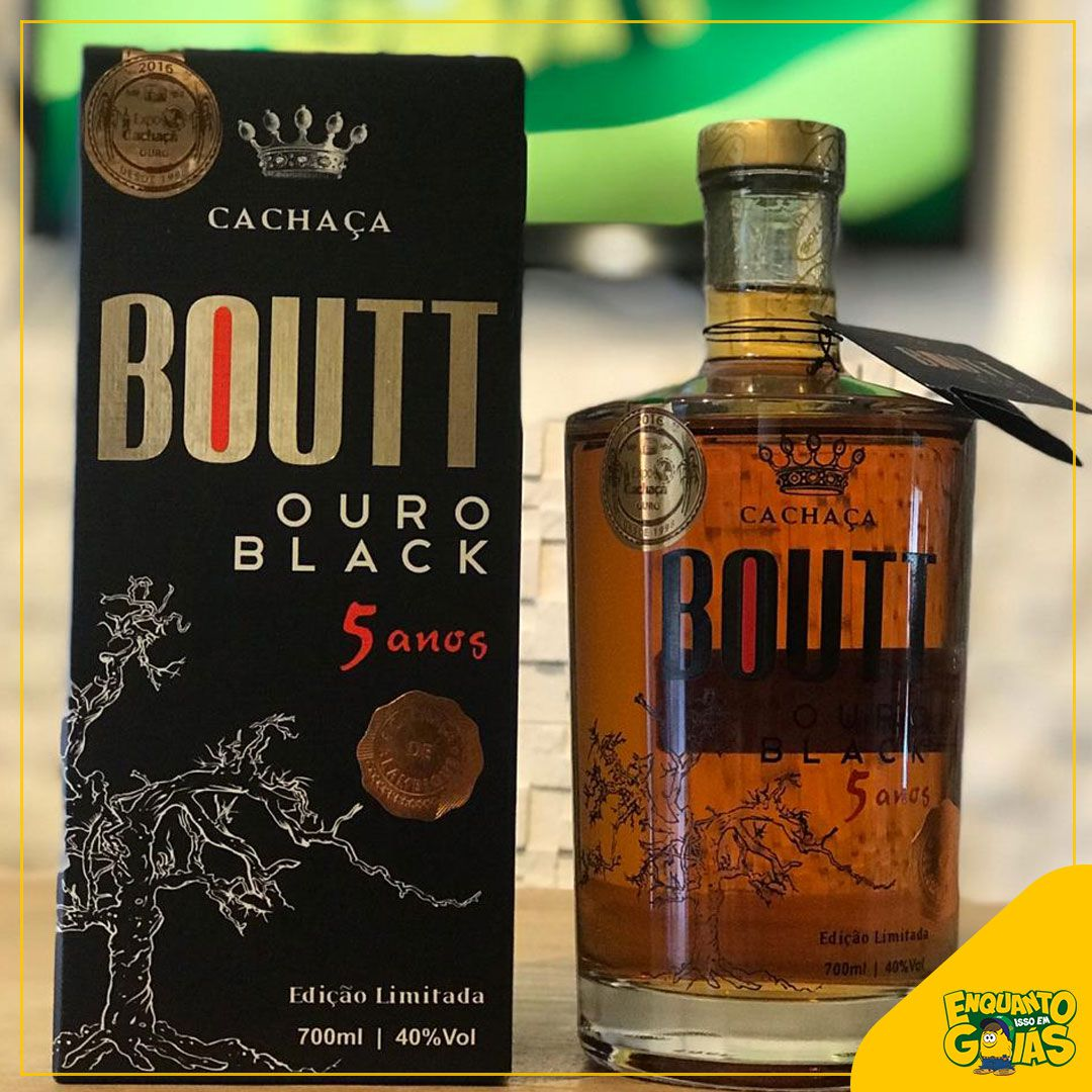 Boutt Ouro Black 5 anos