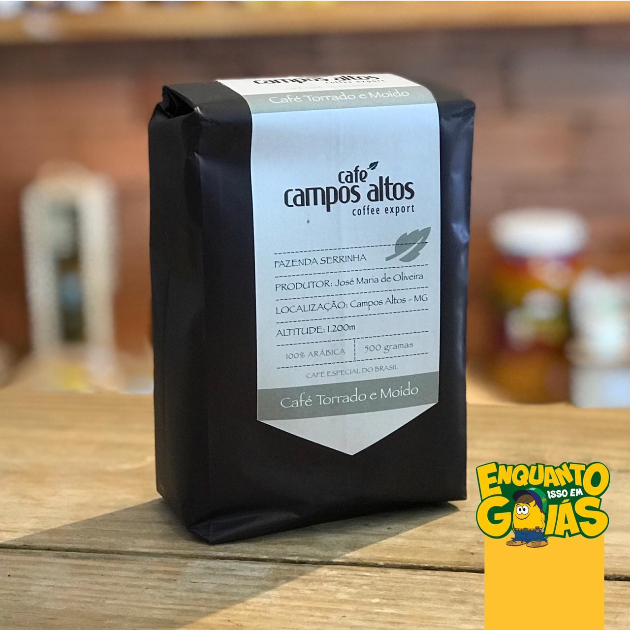 Café Torrado e Moído Campos Altos 500g