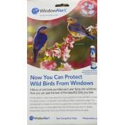 Adesivo estático protetor de pássaros - Window Alert - 5 Unidades