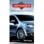 DEFENDER20SL4 PELÍCULA DE SEGURANÇA PRATA 20 - 4 MIL - 1,52X30m
