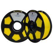 Filamento ABS  Amarelo Escuro 1,75mm - 1kg