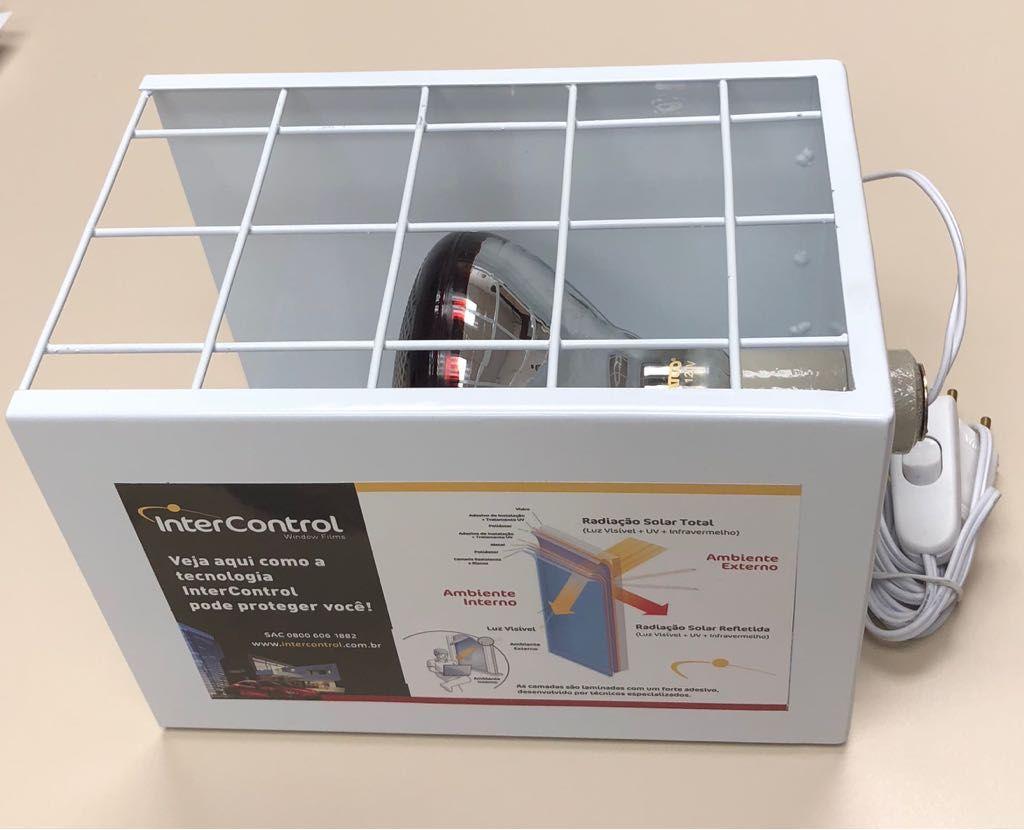 Caixa de Calor INTERCONTROL com Lâmpada Infravermelha 175W - 127V