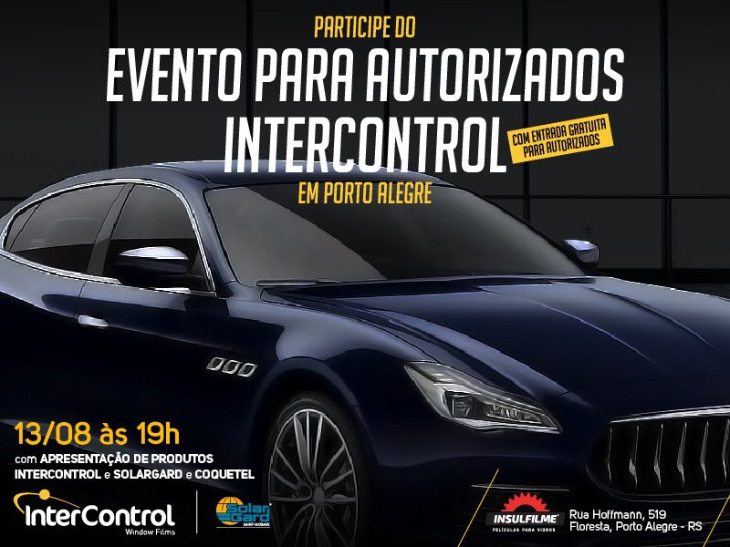 Evento para autorizados em Porto Alegre 13/08/2019