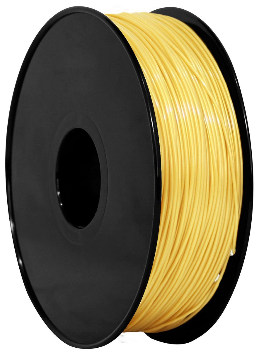 Filamento ABS  Amarelo Ouro 1,75mm - 1kg